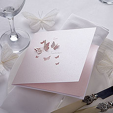Pearl Butterfly Invitation