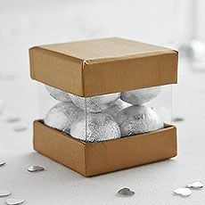 Luxury Mini Cube Favor Box Pack