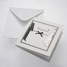 Bride and Groom Invitation Card Kit