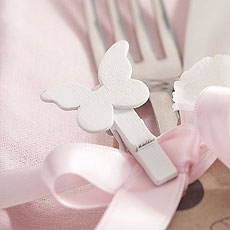 Butterfly Small Wooden Pegs