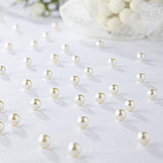 Table Scatter Confetti Pearls In Ivory