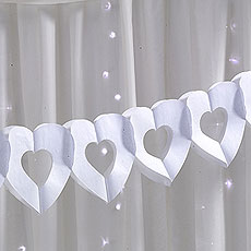 Chic Boutique Hearts Tissue Garland