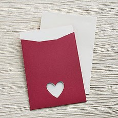 Fuchsia Eco Chic DIY RSVP/TY/STD/Evening Invitation Kit - 10 Pack
