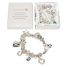 Amore Charm Bracelet - Bride - 'Something old...'