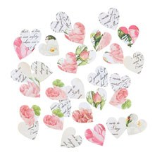 Vintage Rose Table Scatter Confetti