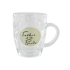 Father of the Bride Glass Tankard