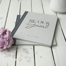 Ivory Be Our Guest Book