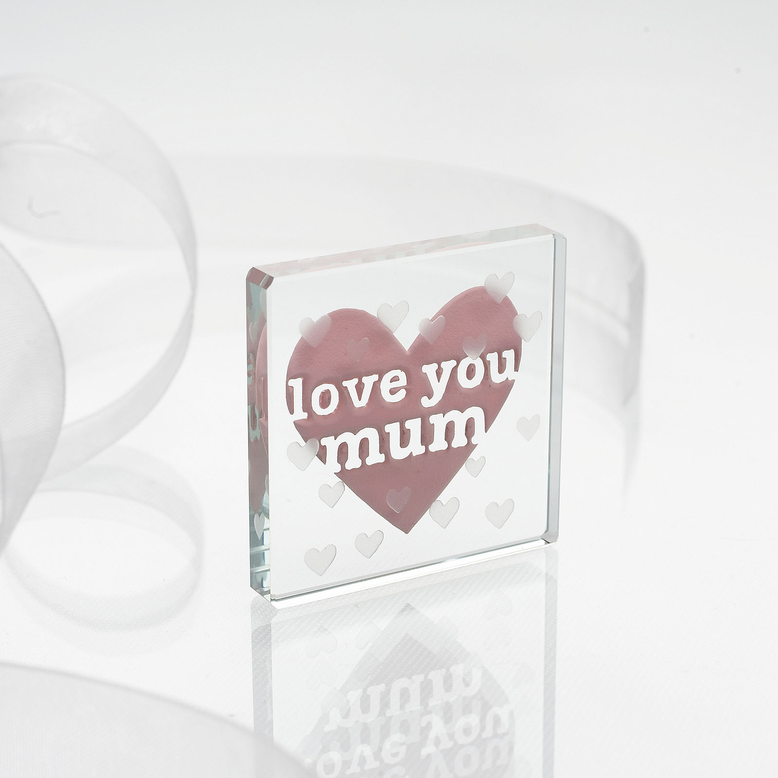 Spaceform Love You Mum Minature Token