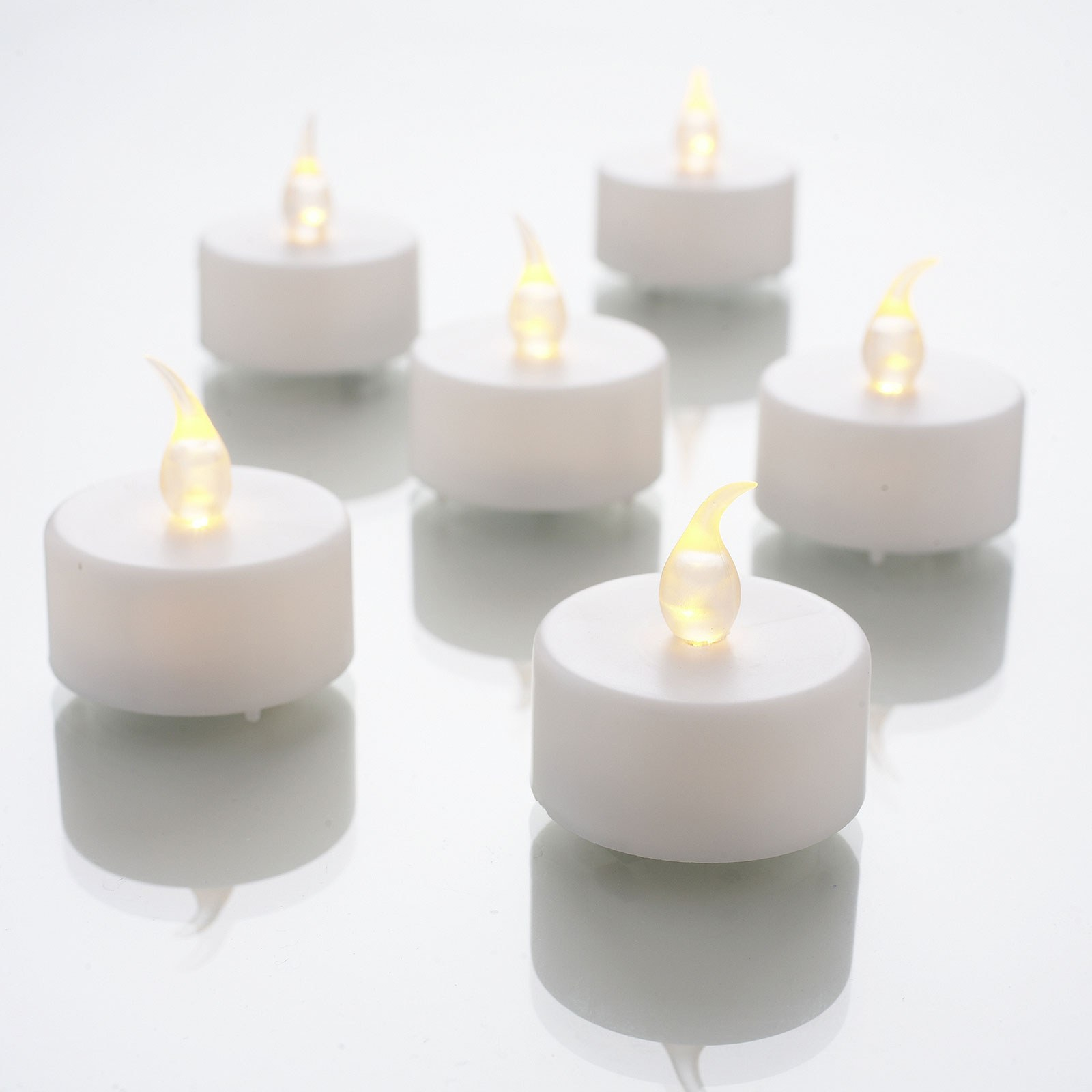 White LED Tea Lights Pack
