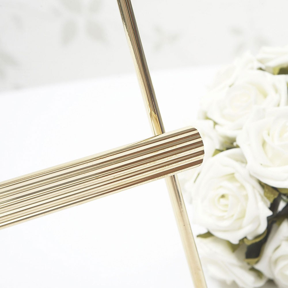 Gold Table Planner Stand