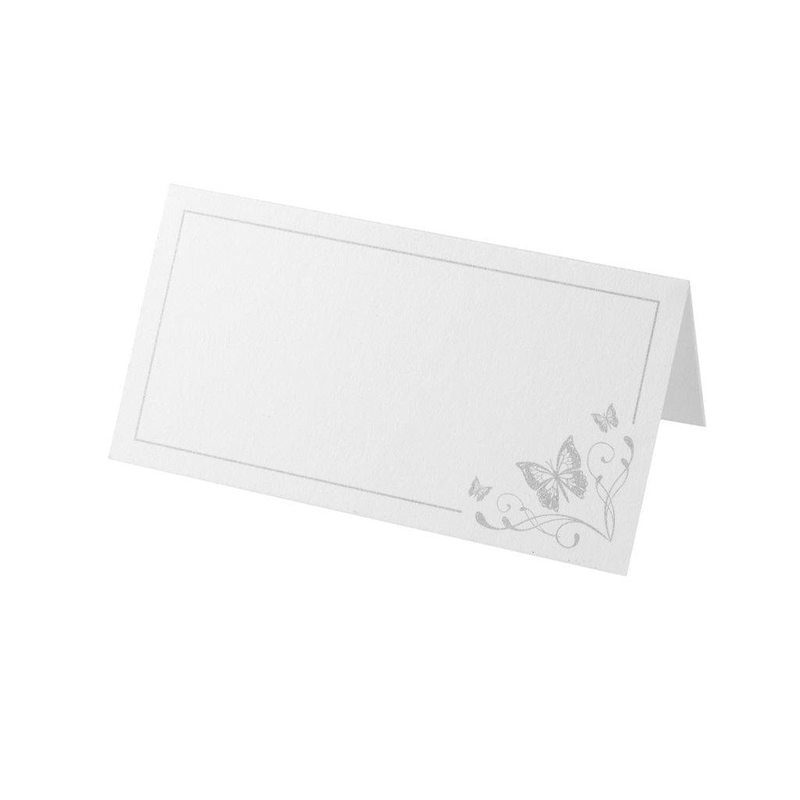 Butterfly Motif Place Card Pack