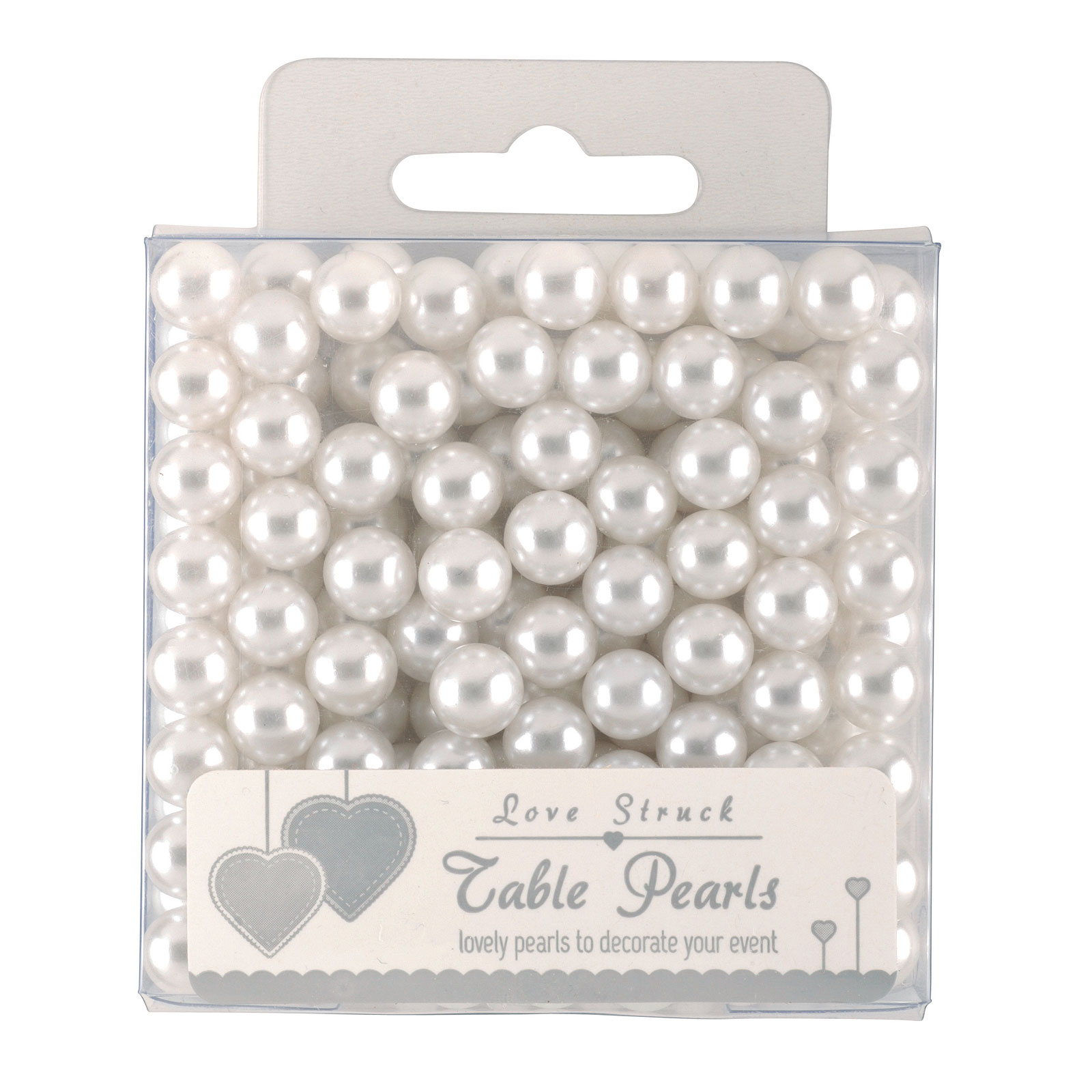 Love Struck White Table Pearls