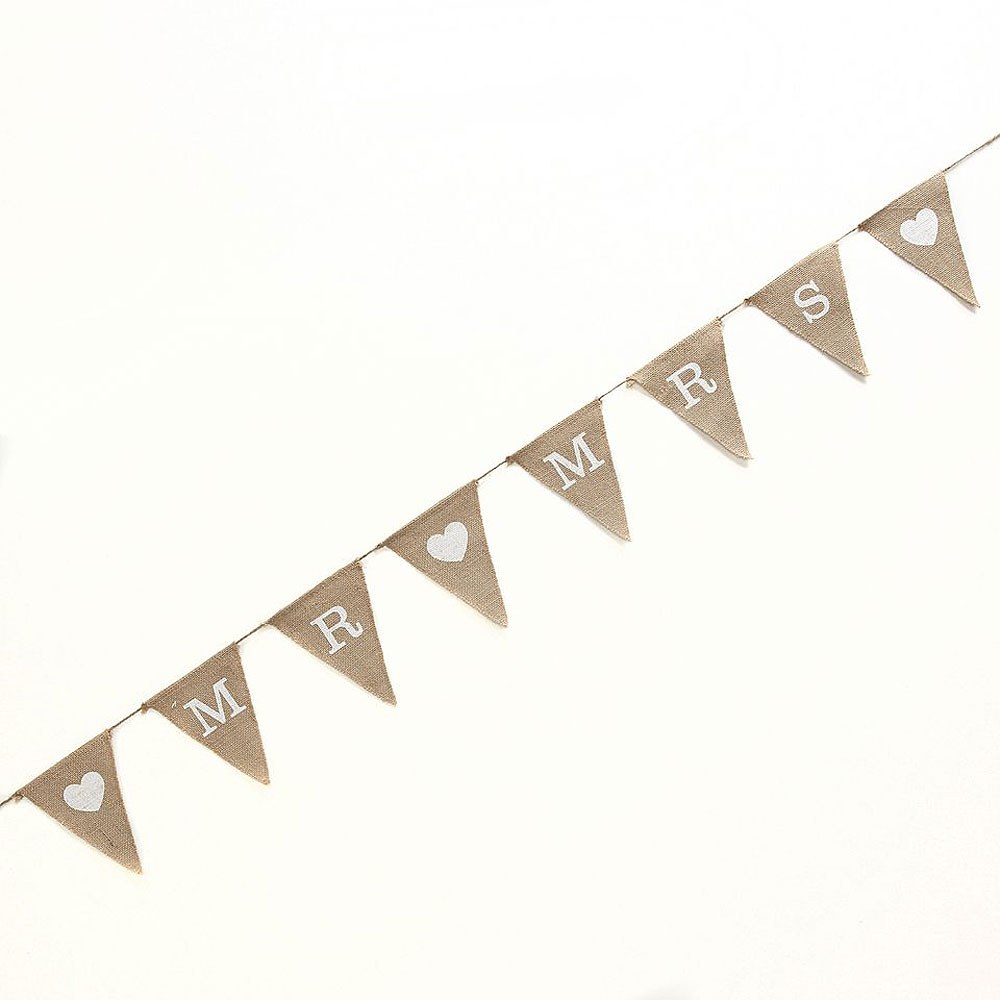 Mr & Mrs Hessian Bunting