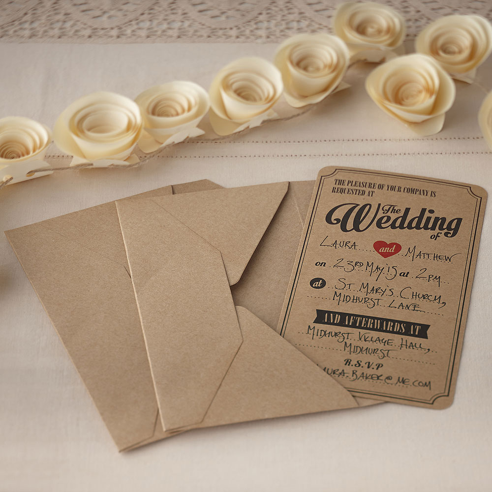 Old Wedding Invitations: Wedding Invitations