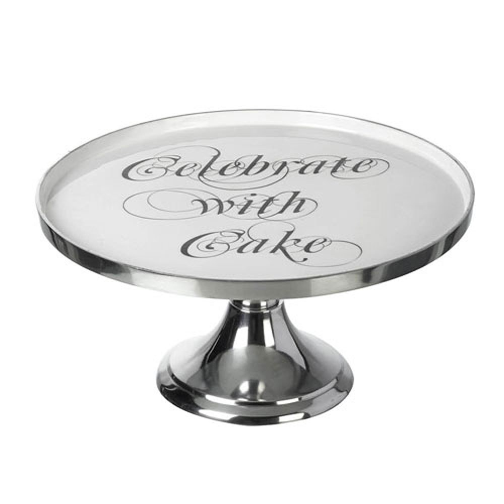 Celebrate with Cake Metal Cake Stand