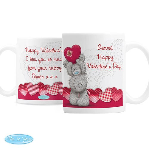 Personalized Me To You Heart Mug