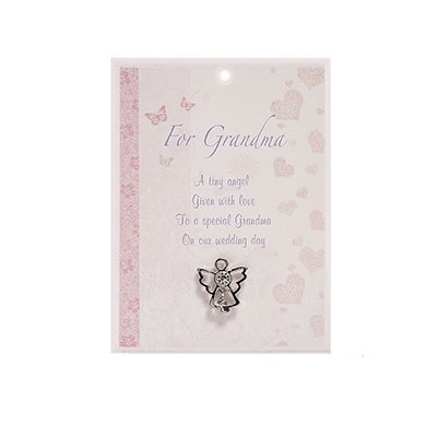 Grandma Angel Pin