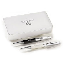 Amore Mr & Mrs Pen Set