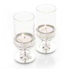 Vera Wang Love Knots Tea Light Holders