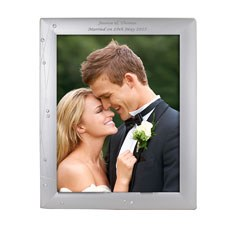 Personalized Diamante Photo Frame Large