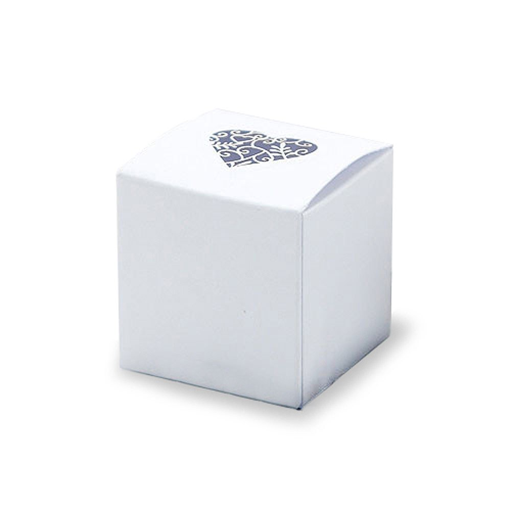 Grace DIY Heart Laser Cut Wedding Favor Boxes Pack