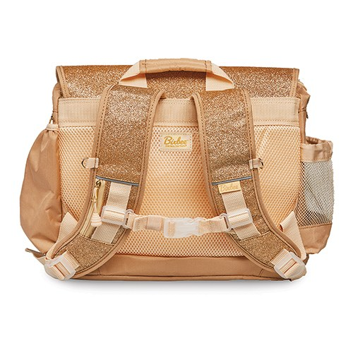 Personalized Kid's Glitter Backpack - Gold