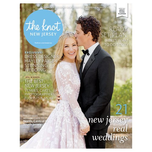 THE KNOT Magazine New Jersey -- Spring/Summer 2016
