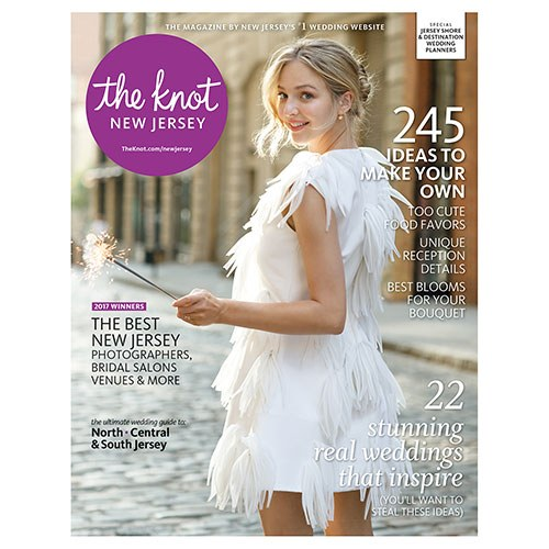 THE KNOT Magazine New Jersey -- Spring/Summer 2017