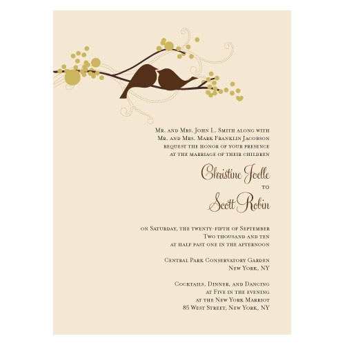These delightful love birds add an element of romance to your wedding stationery. Charmingly designed this collection would be   suitable for any...