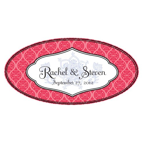 Moroccan Large Wedding Window Cling