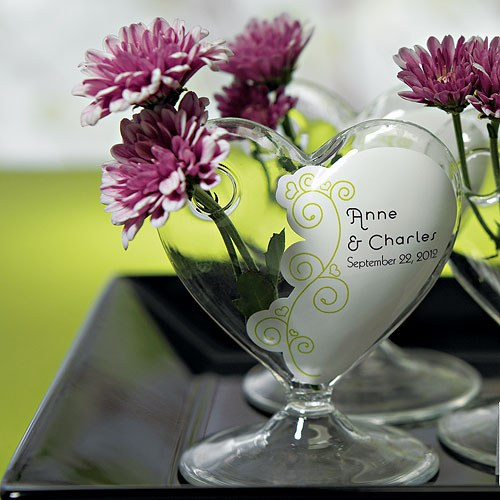 Bud Vase Wedding Window Cling