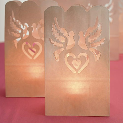 Wedding Reception Paper Lantern Luminaries