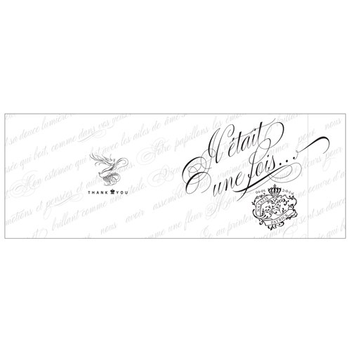 Parisian Personalized Book Style Wedding Favor Notepad