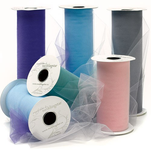 Wedding Reception Tulle by the Roll Accessory