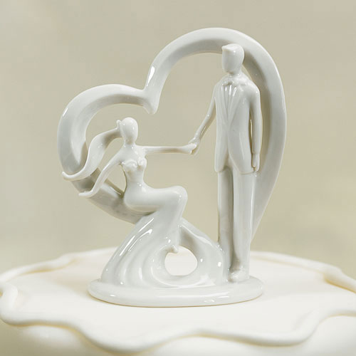 Take My Hand Wedding Cake Topper