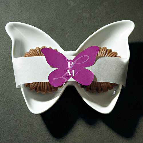 Butterfly Wedding Favor Stickers