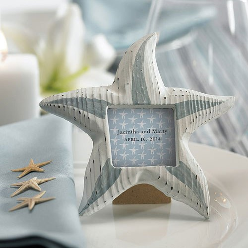 Starfish Background Wedding Favor and Place Cards