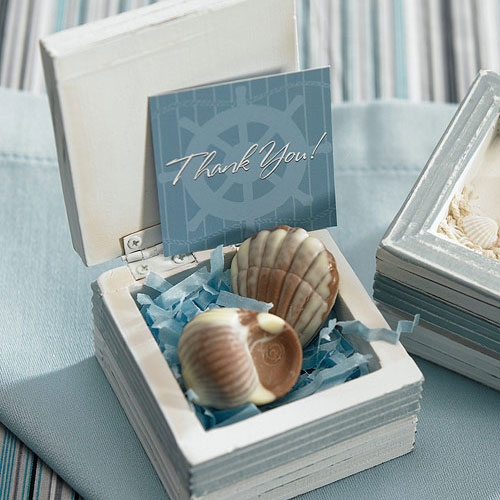 Boat Wheel Wedding Favor Tag and Place Card