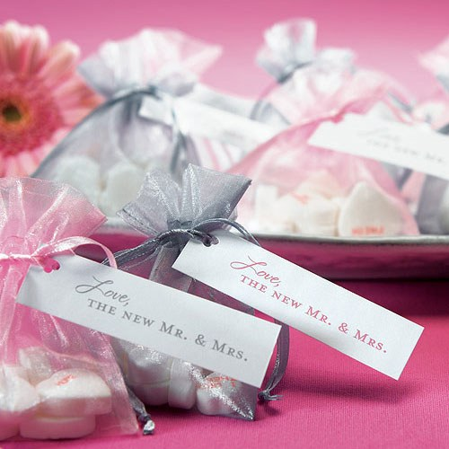Love the New Mr. and Mrs. Wedding Favor Card tags