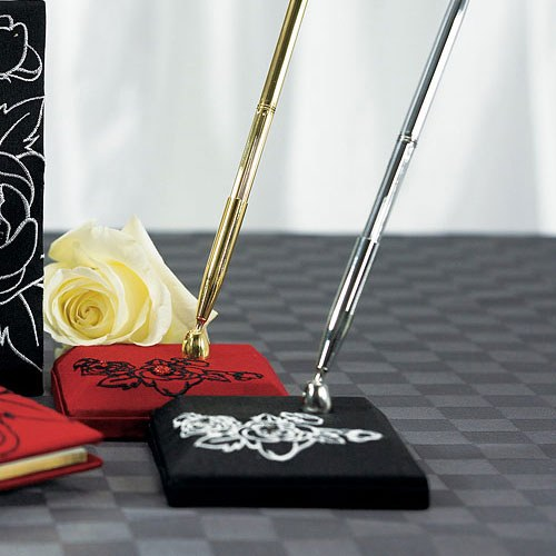 Silhouettes in Bloom Wedding Reception Pen with Base