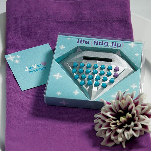 We Add Up Novelty Calculator In Gift Packaging Confetti