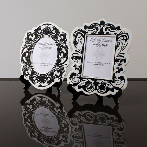 Baroque Paper Frames with Table Easels - Small - The Knot Shop
