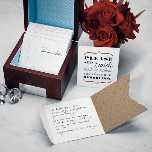 Note Box Wishing Well Stationery