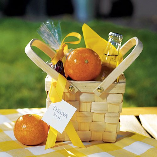 Decor Picnic Basket - Medium