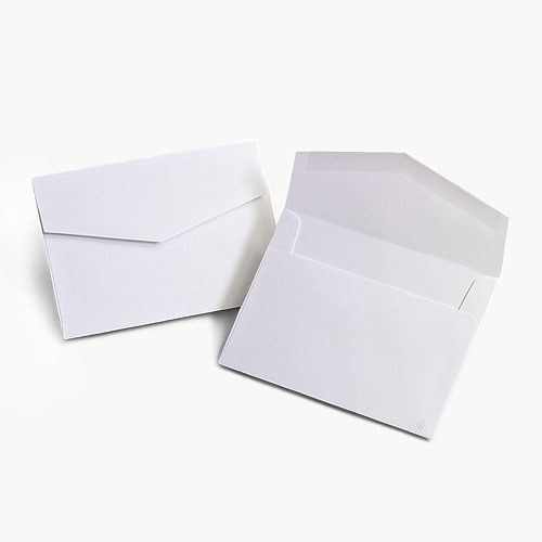 5 x 7 signature invitation outer envelopes the knot shop