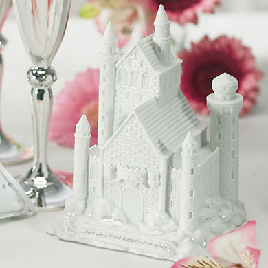 fairytale castle wedding cake topper tale dreams castle cake topper the knot shop 14098