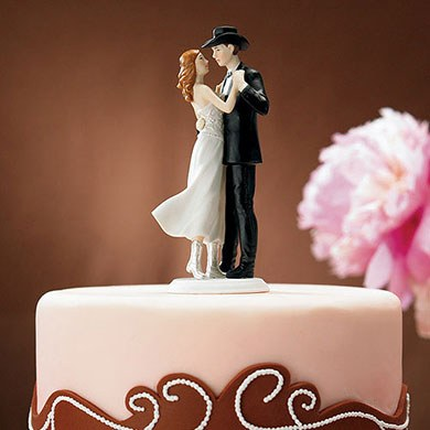 Country and Western Themed Wedding Cake Toppers The Knot Shop