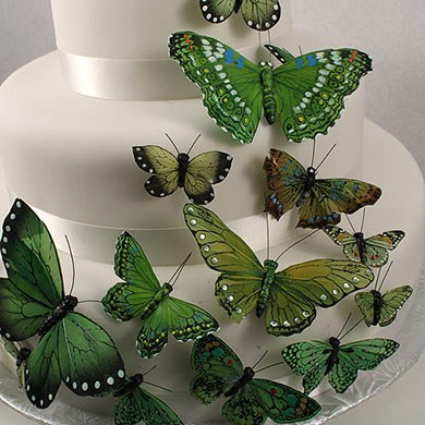 Butterfly Cake Decoration Uk : Beautiful Butterfly Cake Sets, Butterfly Wedding Favours ...