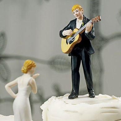 Guitar Cake Toppers Canada