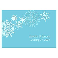 Winter Finery Large Rectangular Tag